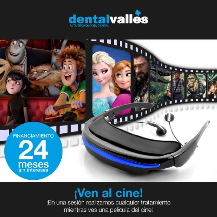 Disfruta del cine con Dental Vallès