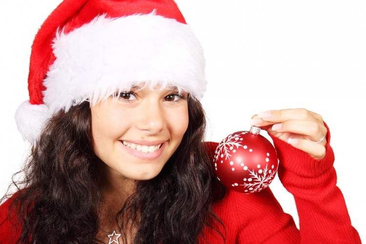 Luce sonrisa esta Navidad